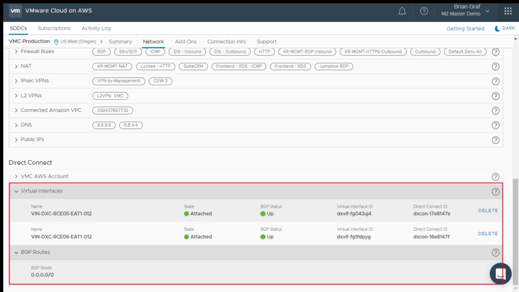 vMotion Virtual Machines from On-Prem to VMware Cloud on AWS with