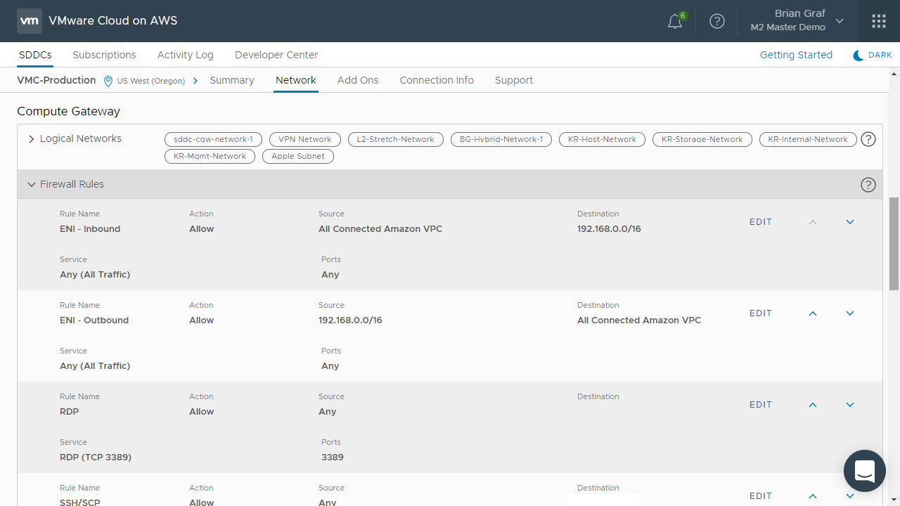 VMware Cloud on AWS - Adding Elastic File System to your VMware